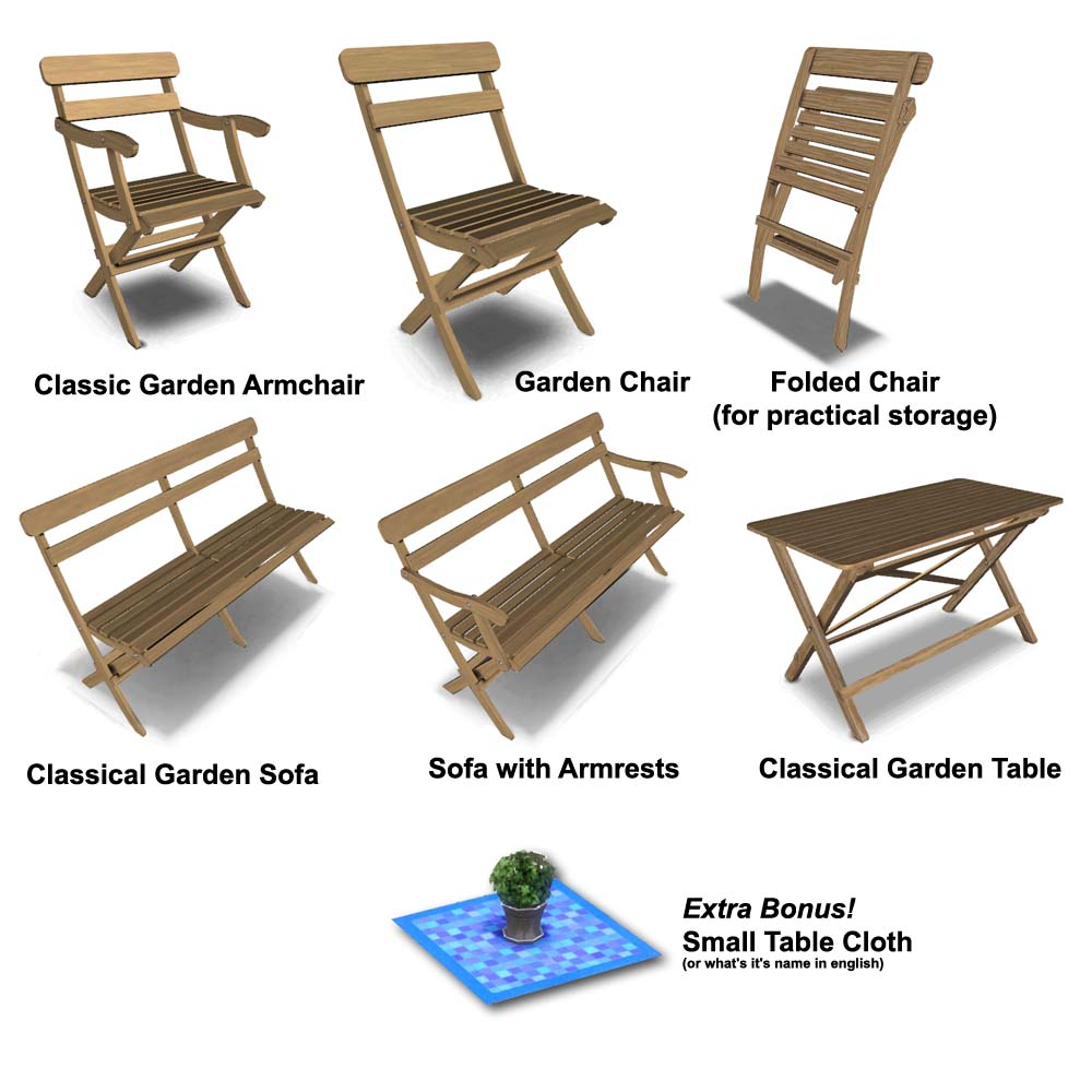 Classic Outdoor Furniture by Lisen801