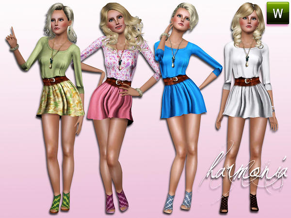 Designer Royal Dolman Dress by Harmonia09