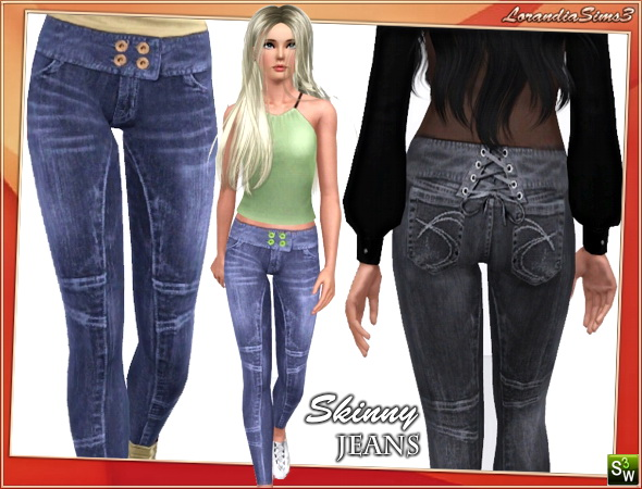 Skinny jeans by Lore