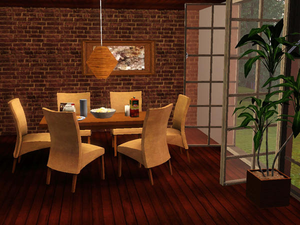 Modern Dining Room by deeiutza