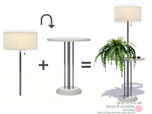 Lamp To End Set by DOT