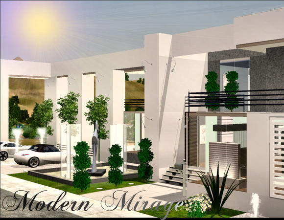 Modern Mirage  by Chemy