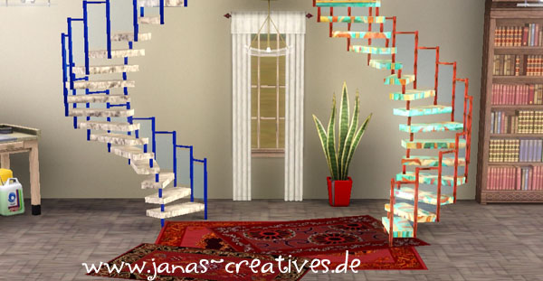 new spiral staircase by fanny. Black Bedroom Furniture Sets. Home Design Ideas