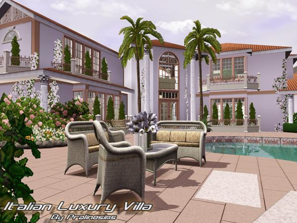 Italian Luxury Villa by Pralinesims