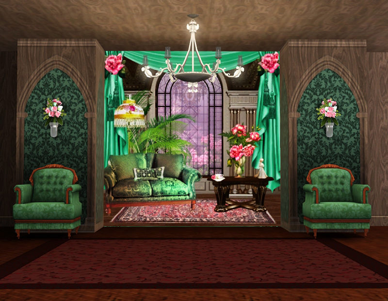 Interior Backgrounds by Torri