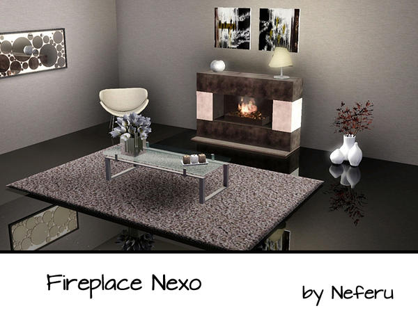 Fireplace Nexo by Neferu