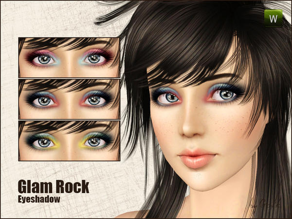 Glam Rock eyeshadow by Gosik
