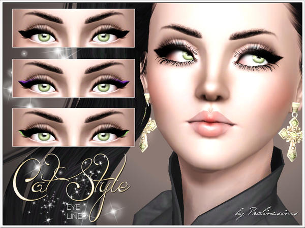 Cat Style Eyeliner by Pralinesims