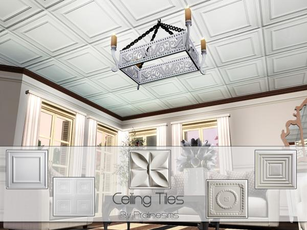 Ceiling Tiles by Pralinesims