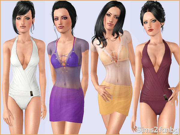 321 - Swimwear set by sims2fanbg