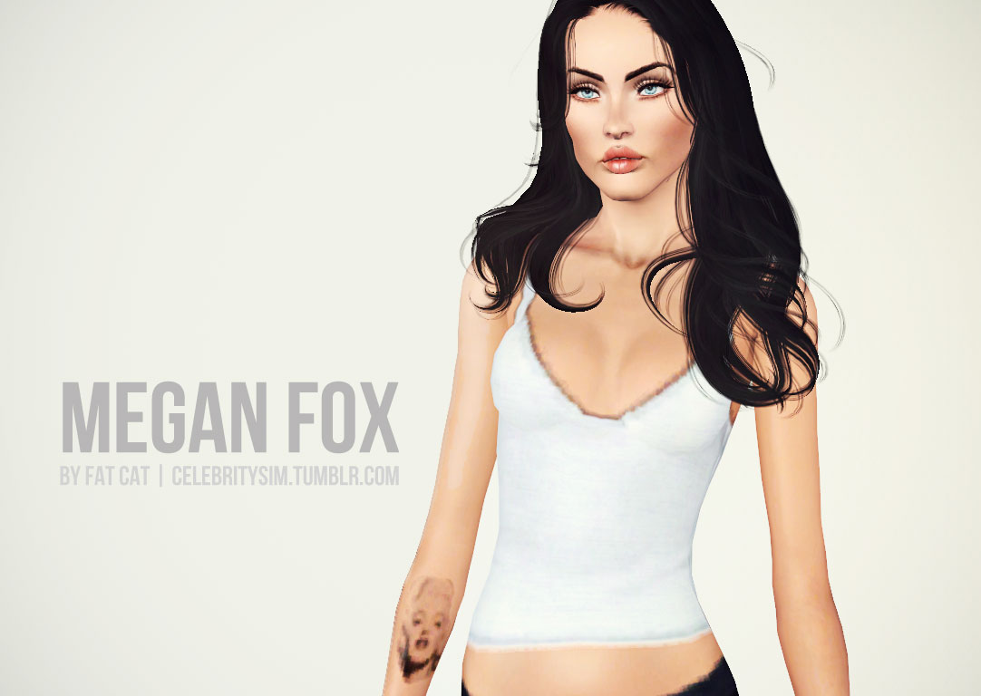 Megan Fox by Fat Cat
