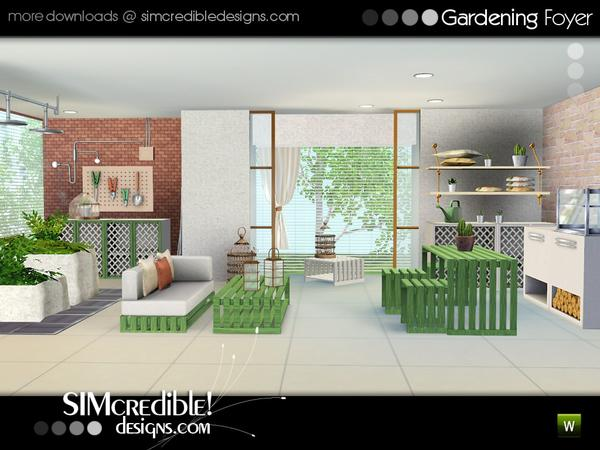 Gardening Foyer by SIMcredible