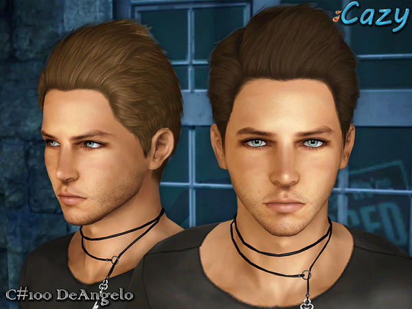DeAngelo Hairstyle - Set by Cazy