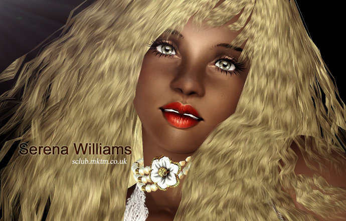 Serena Williams by S-Club