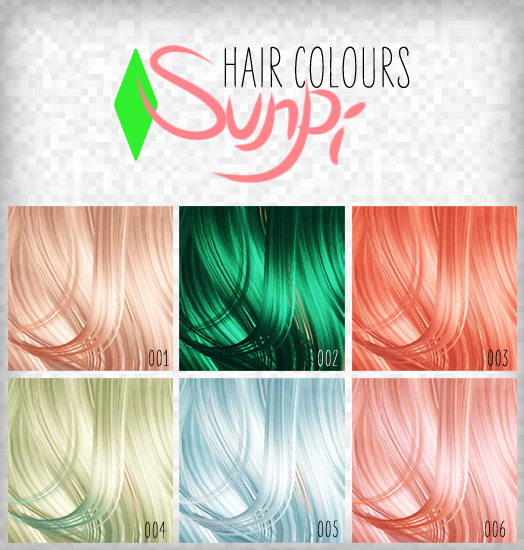 Hair Colours by Sunpi