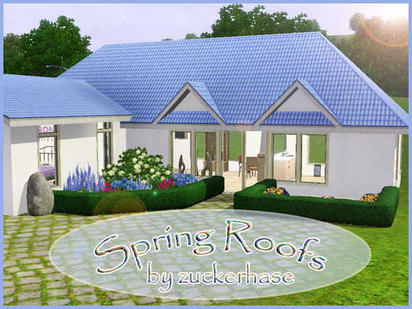 Spring Roof Recolors by Zuckerhase
