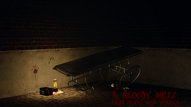 A Bloody Mess - Hand Wall Writings by Kiseuk