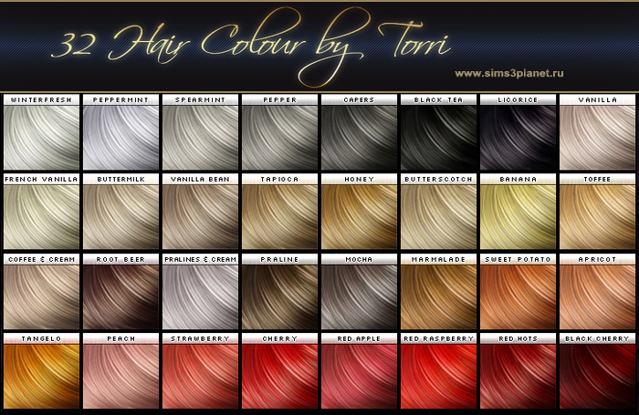 32 Hair Colour by Torri