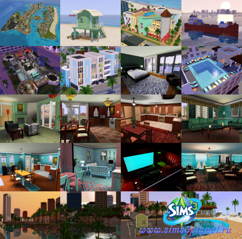 The Sims 3 Vice City Beta by Fresh-Prince