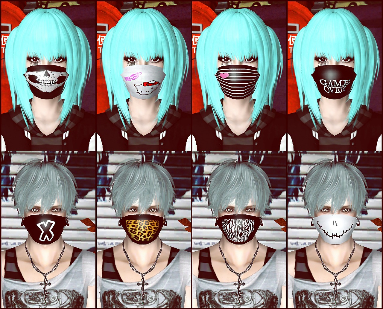 Fight for Freedom Mask Pack by Kicova
