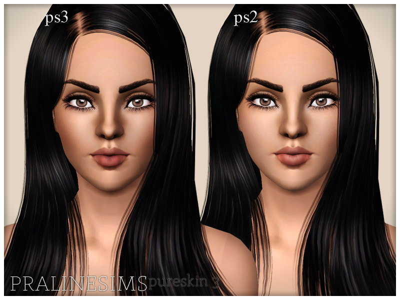 Pure Skin 3 by Pralinesims