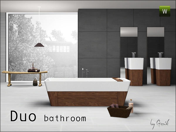 Duo Bathroom от Gosik
