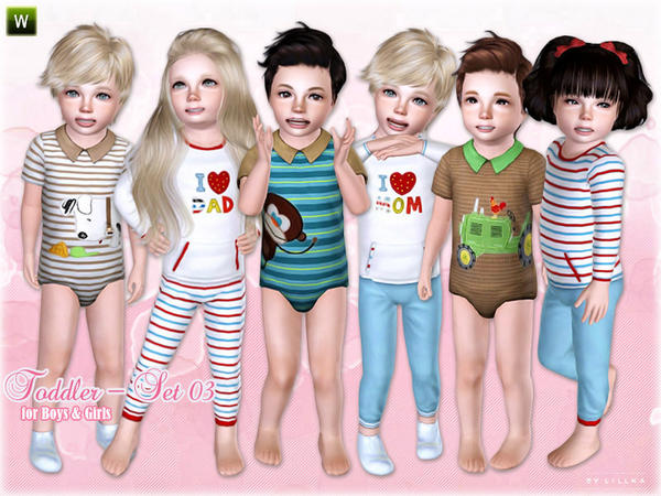 Toddler - Set 03 by lillka
