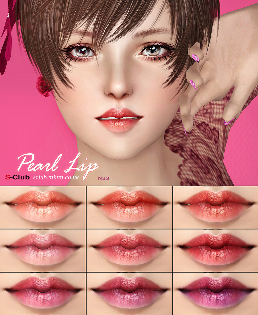 Pearl Lipgloss N33 by S-Club