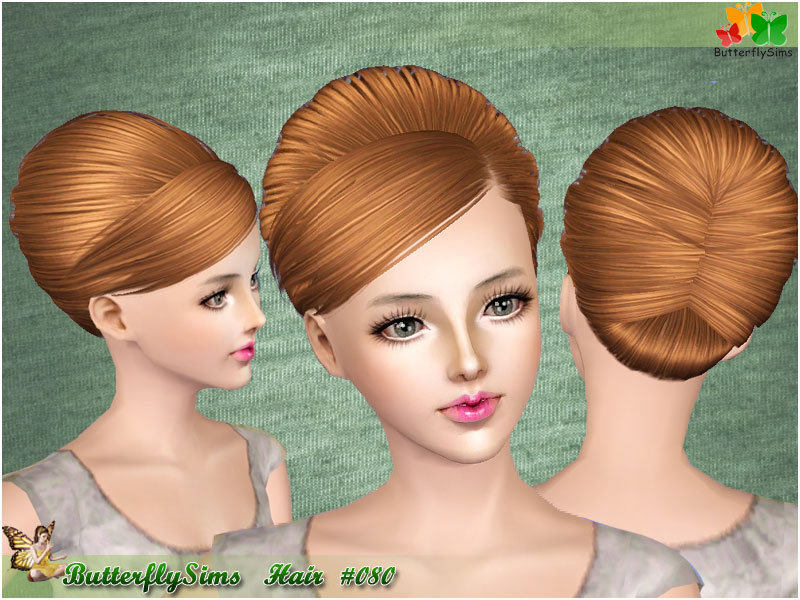 Hair 80 for Females by Butterflysims