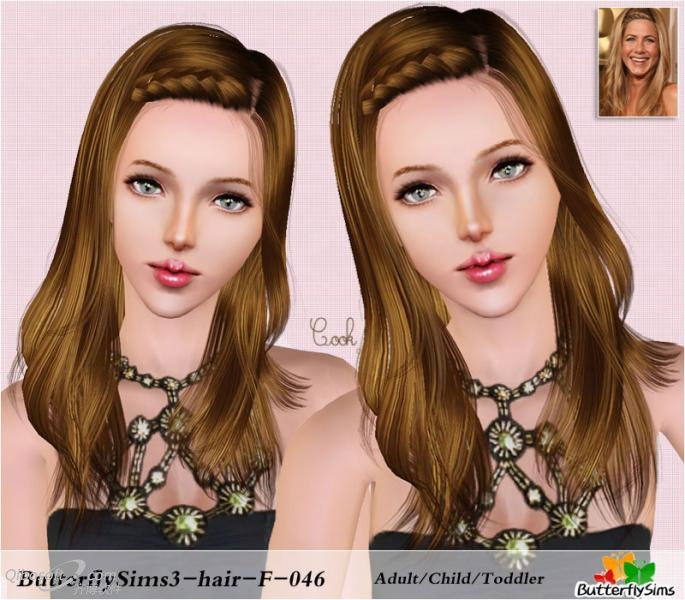 Hair 46 for Females by Butterflysims