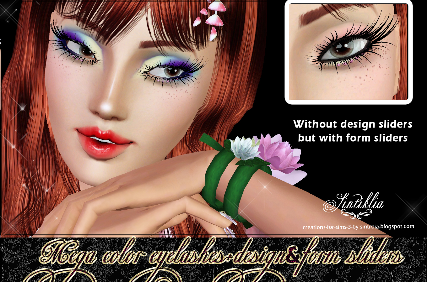 Mega color eyelashes updated for sliders by Sintiklia