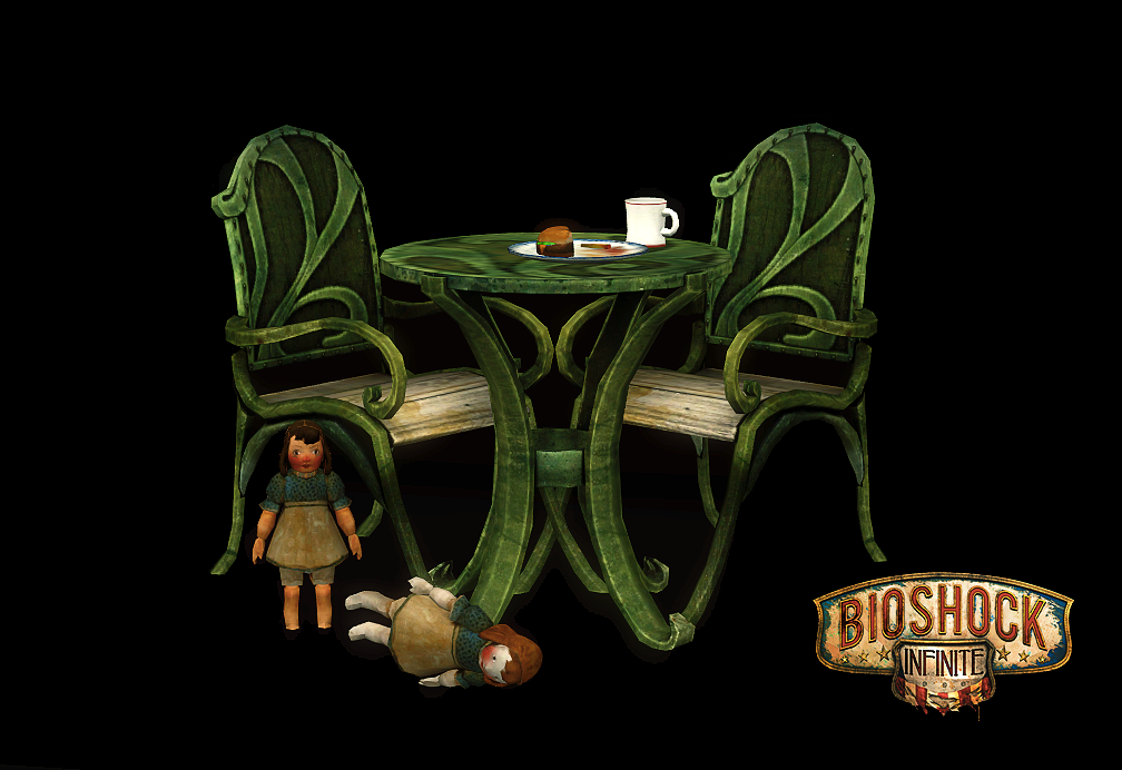 Bioshock Infinite Bistro Set by Kitt
