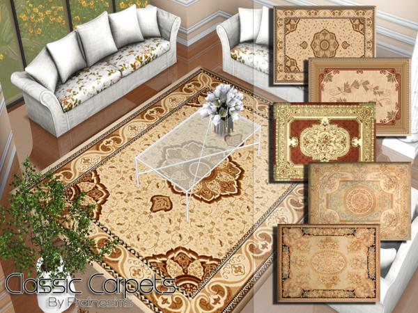 Classic Carpets by Pralinesims