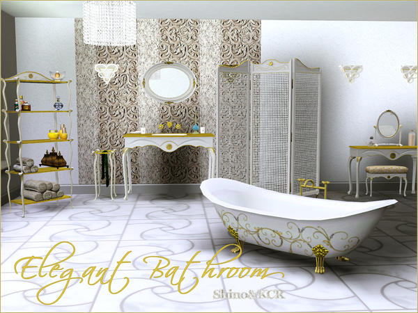Elegant Bathroom от Shino&KCR