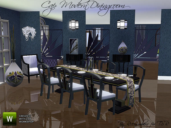 Cap Modern Dining by riccinumbers