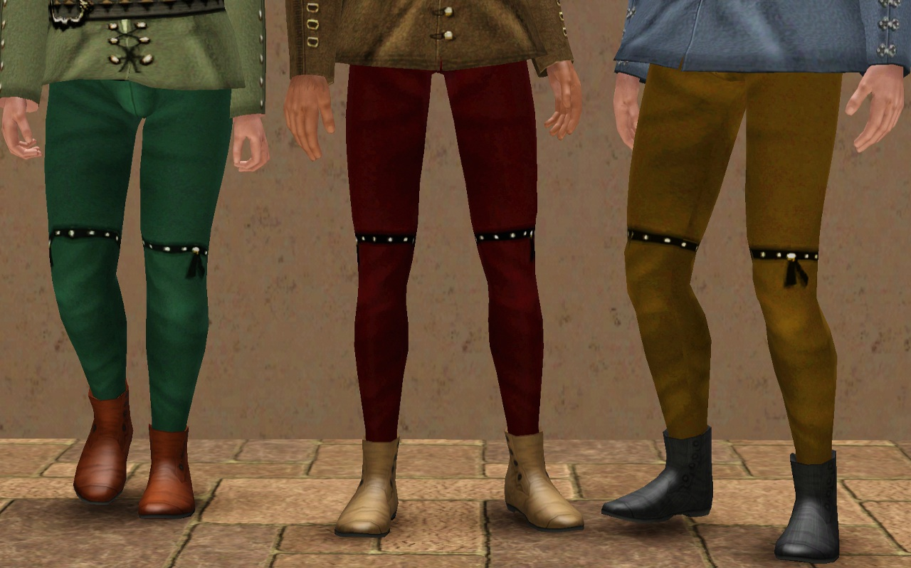 Medieval Men's Trousers - Ye Olde Kingdom of Pudding by The Merrye Makers