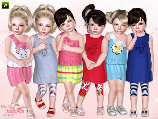 Finally Summer - Toddler Set by lillka