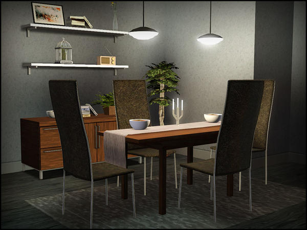 Finnick Dining Room by sim_man123