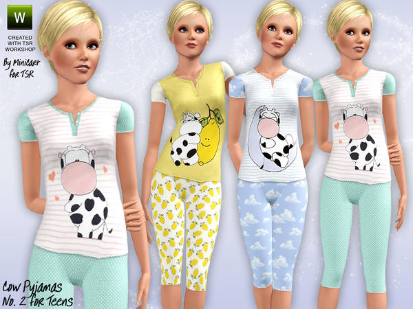 Cow Pyjamas Again by minicart