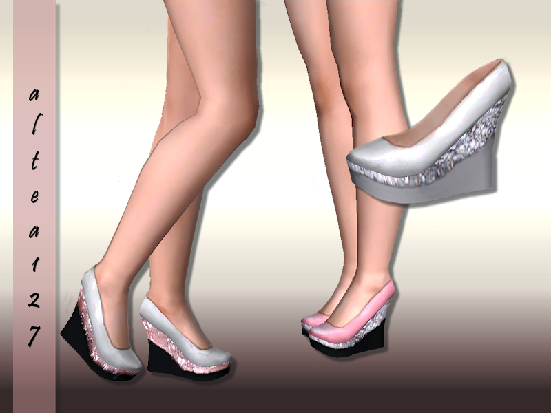 Wedges in three colors by Altea127