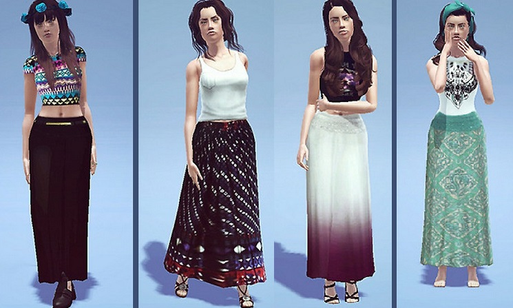 Maxi Skirts by Luisa