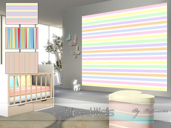 Striped Walls by Pralinesims