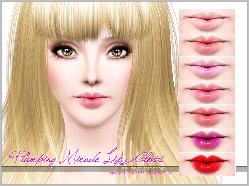 Plumping Miracle Lip Gloss от Pralinesims