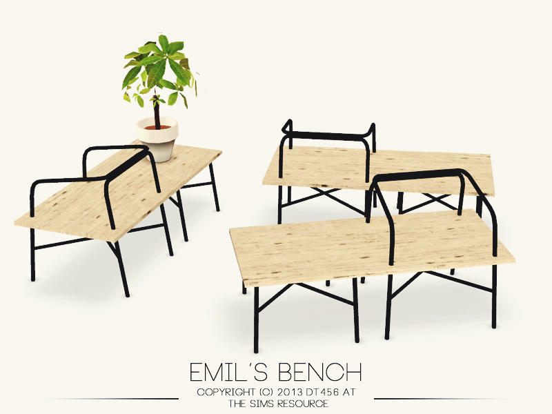 Emil's Bench by DT456