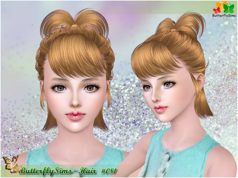 Hairstyle 081 by ButterflySims