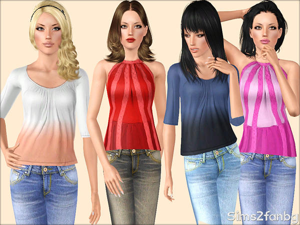 330 - Summer set by sims2fanbg