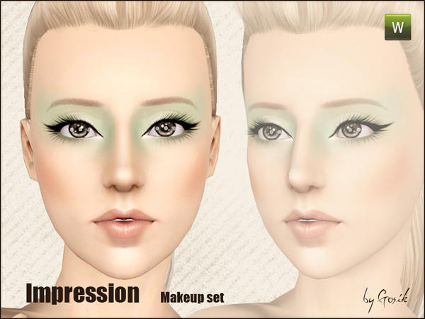 Impression makeup set от gosik