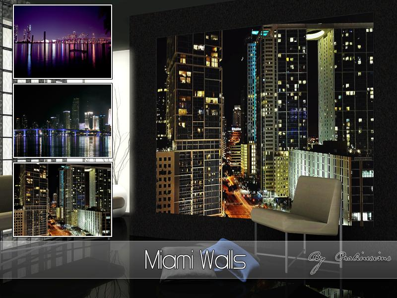 Miami Walls by Pralinesims