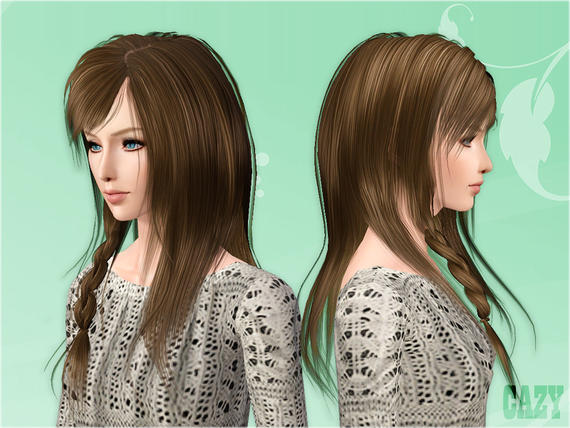 Steps Hairstyle Female от Cazy