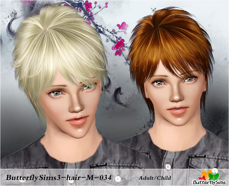 F-hair034 by ButterflySims